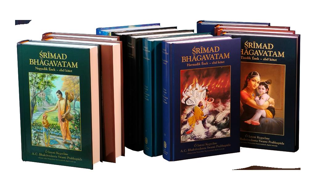 Srímad-Bhágavatam szett